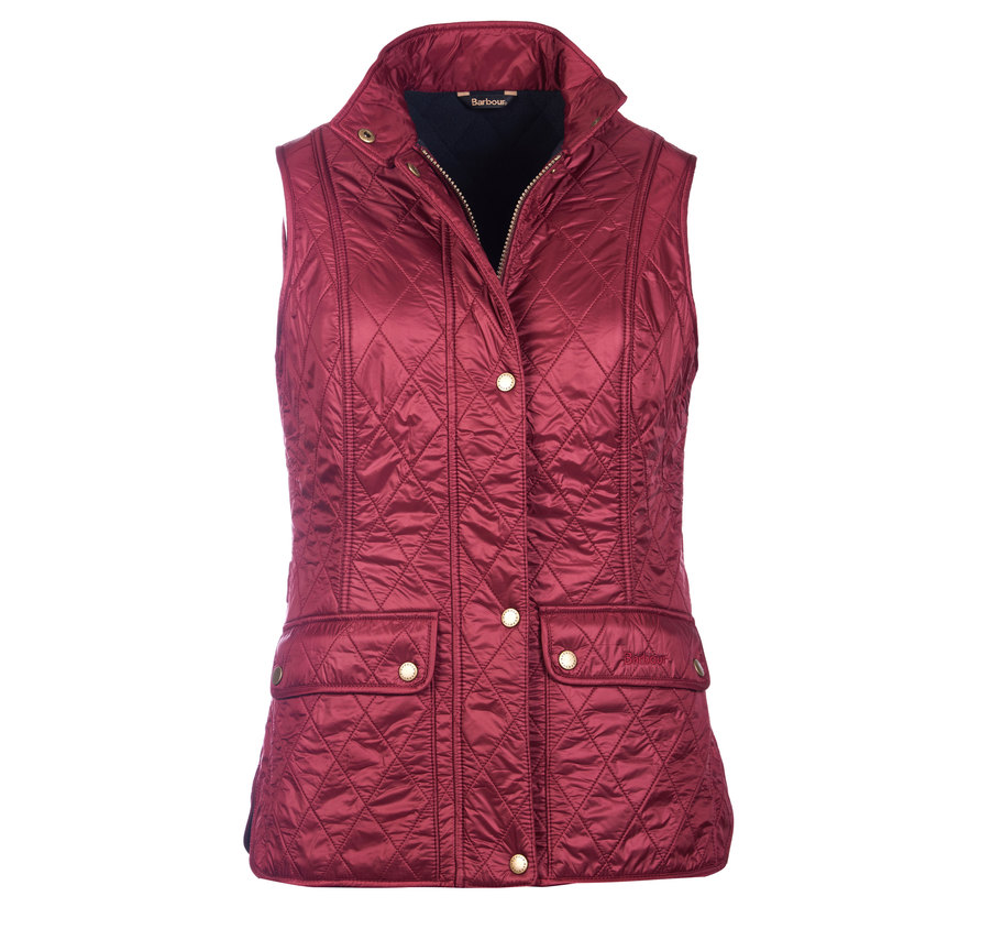 Barbour Wray Gilet Carmine Fit Regular