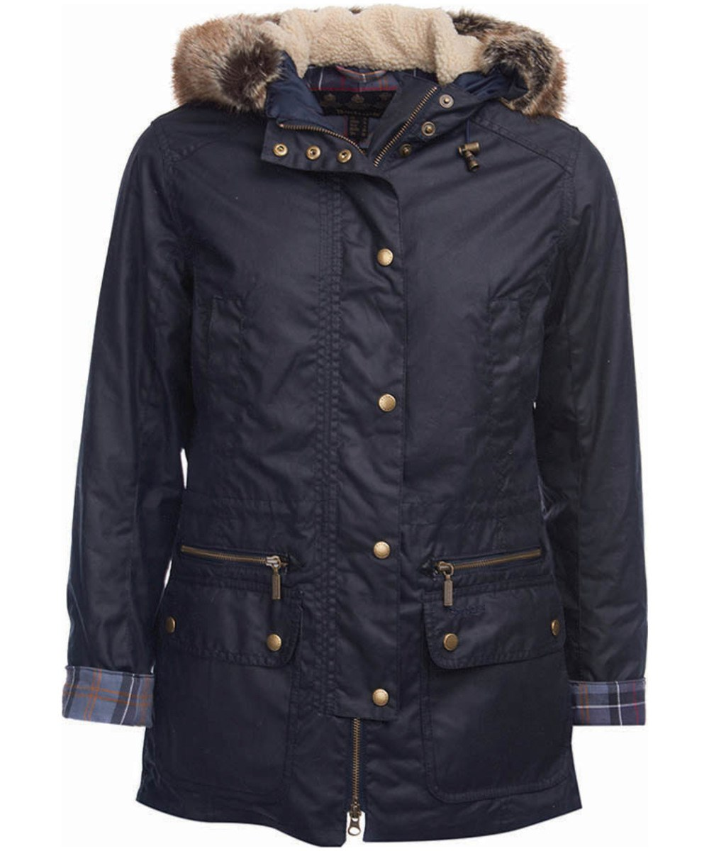 Barbour Barbour Kelsall Waxed Jacket Navy Barbour International: from the Military capsule