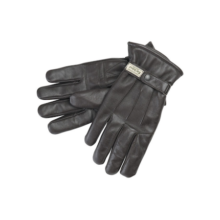 Barbour Burnished Leather Thinsulate Gloves Brown Barbour Lifestyle: from the Hacking capsule