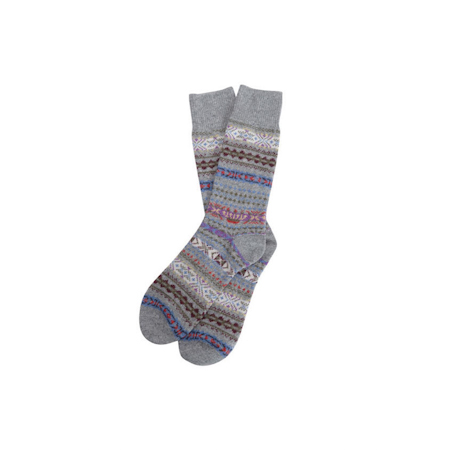 Barbour Boyd Sock Grey Barbour Heritage: from the Gun Room capsule