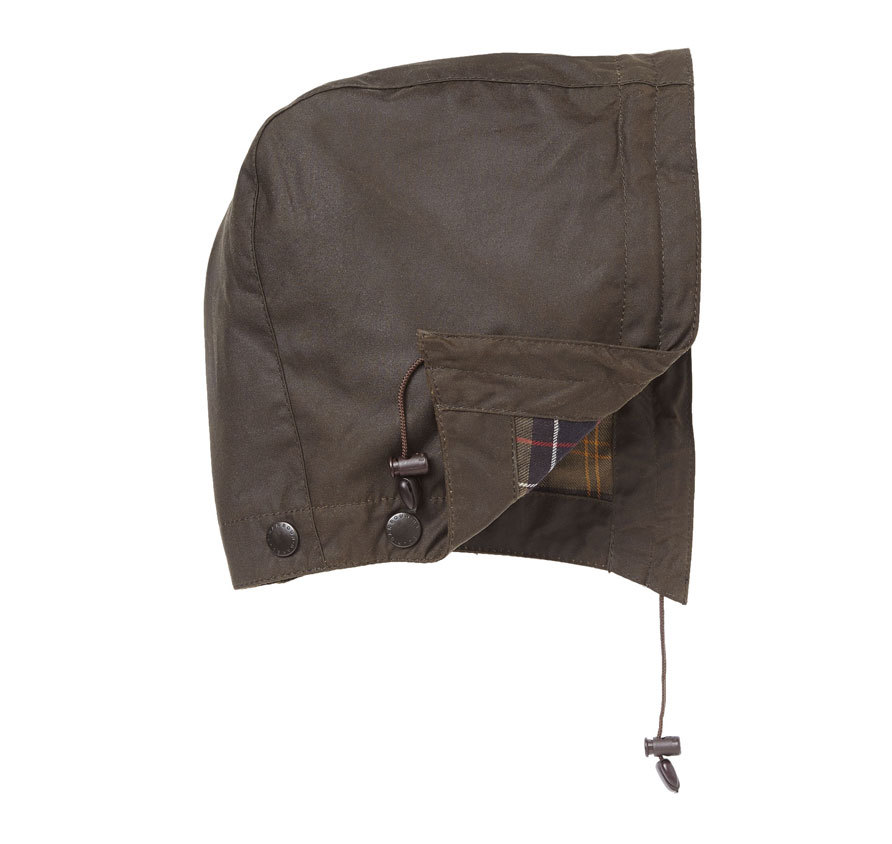 Barbour classic Sylkoil Hood Olive Barbour LIfestyle: from the Classic capsule