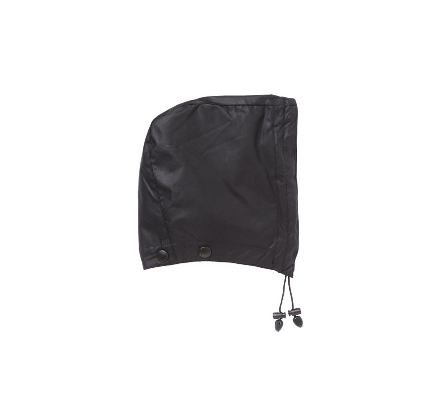 Barbour Waxed Cotton Hood Black