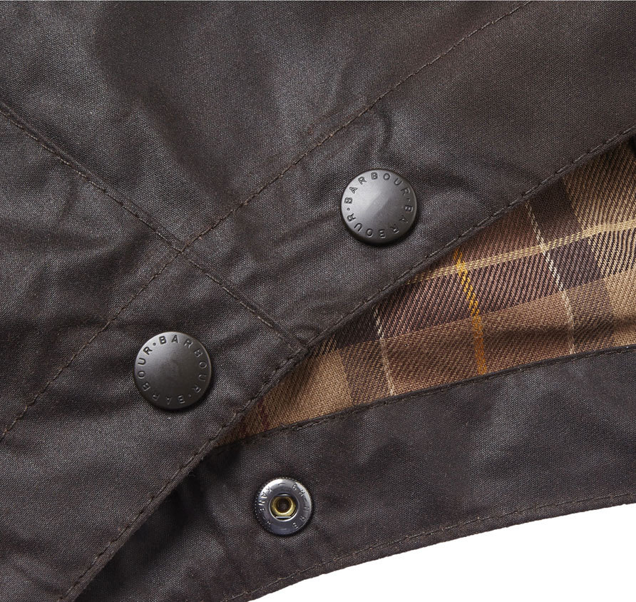Barbour Waxed Cotton Hood Rustic