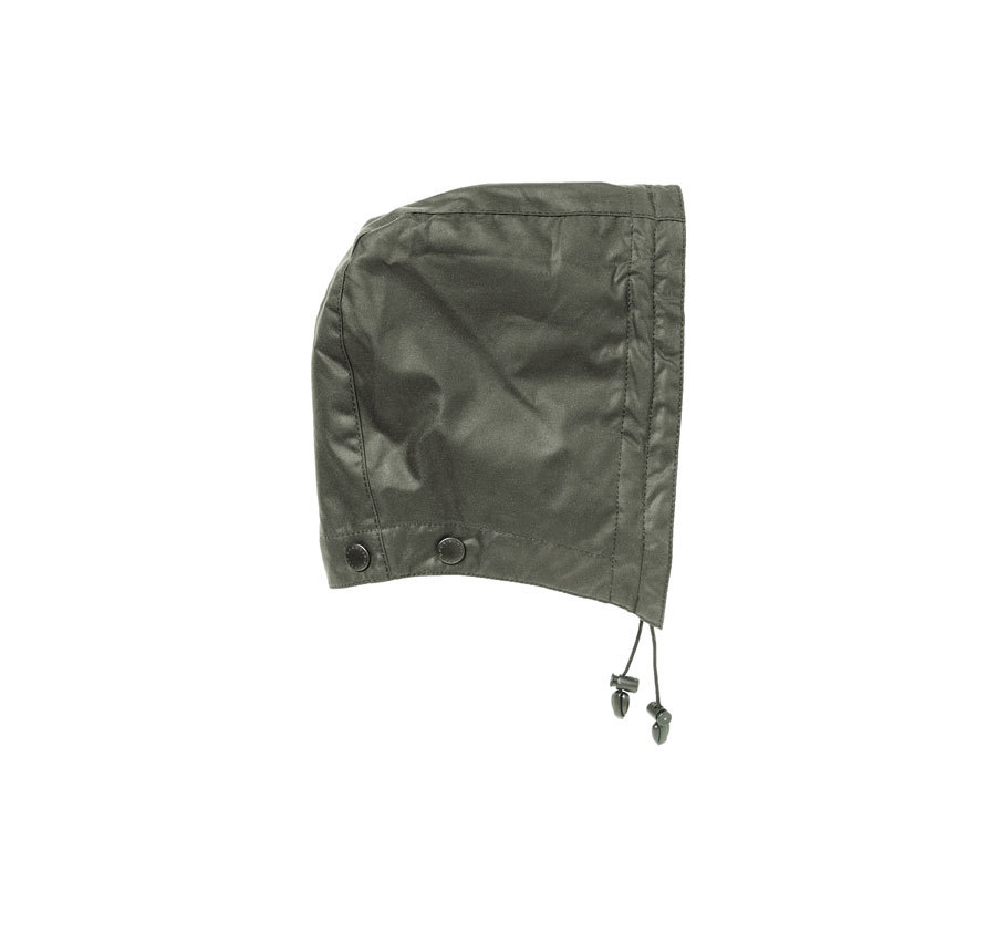 Barbour Waxed Cotton Hood Sage Barbour LIfestyle: from the Classic capsule
