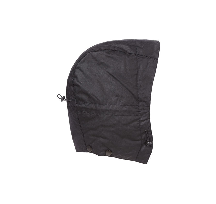 Barbour Barbour Waxed Storm Hood Black Barbour LIfestyle: from the Classic capsule