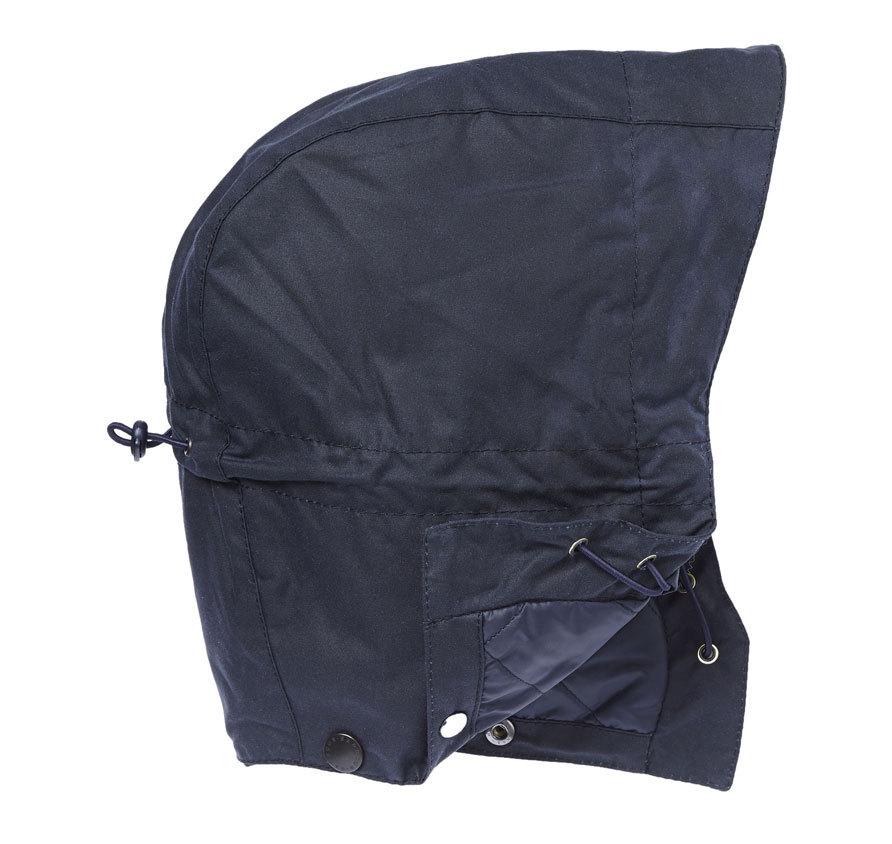 Barbour Waxed Storm Hood Navy Barbour LIfestyle: from the Classic capsule