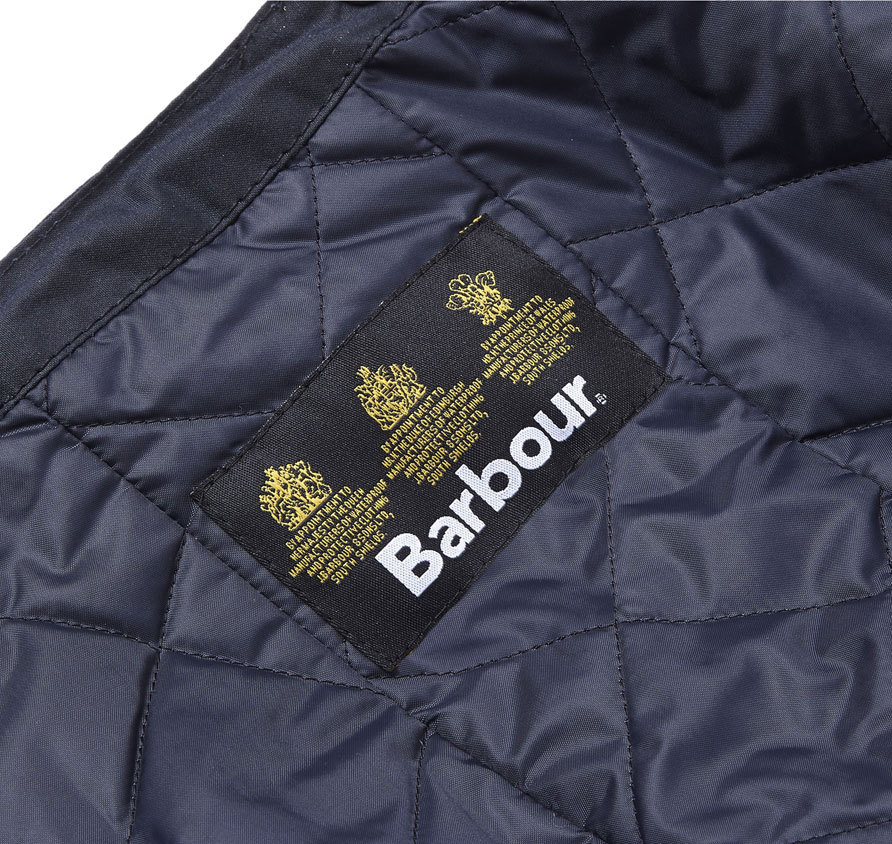 Barbour Waxed Storm Hood Navy
