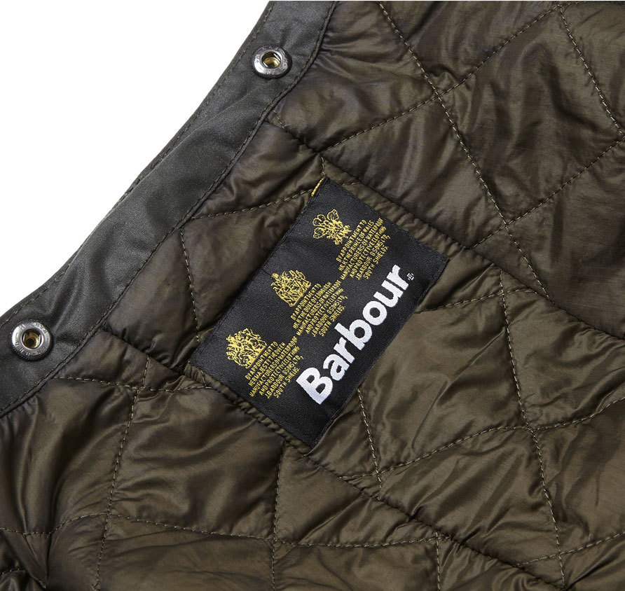 Barbour Waxed Storm Hood Sage