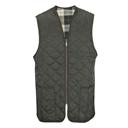 Barbour Quilted Waistcoat ZIp-in Liner Sage Barbour Lifestyle: from the Classic capsule