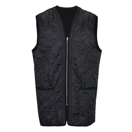 Barbour Polarquilt Waistcoat Zip-In Liner Black Barbour Lifestyle: from the Classic capsule