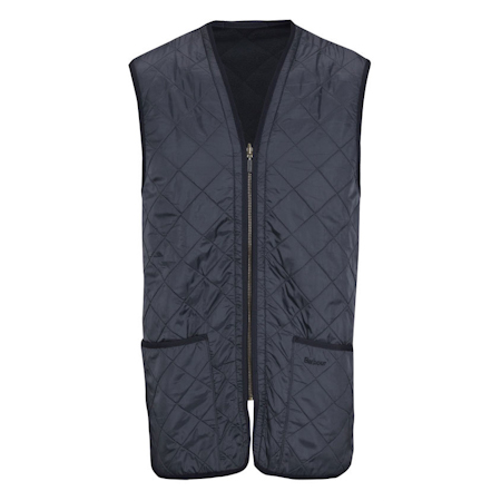 Barbour Polarquilt Waistcoat Zip-In Liner Navy Barbour Lifestyle: from the Classic capsule
