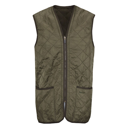 Barbour Polarquilt Waistcoat Zip-In Liner Olive Barbour Lifestyle: from the Classic capsule