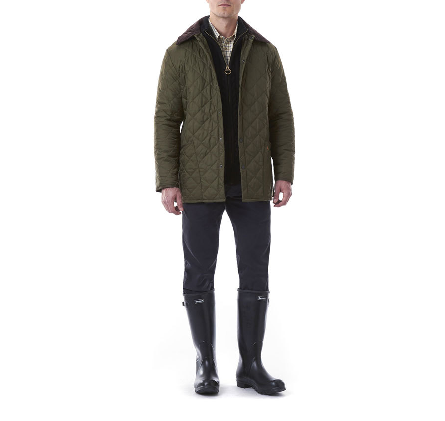 Barbour Liddesdale Quilted Jacket Olive
