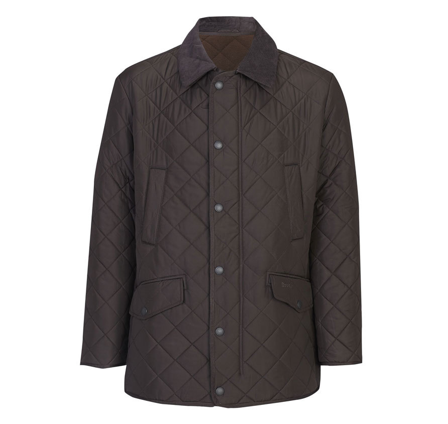 Barbour Bardon Jacket Dark brown Barbour Lifestyle: From the Classic collection