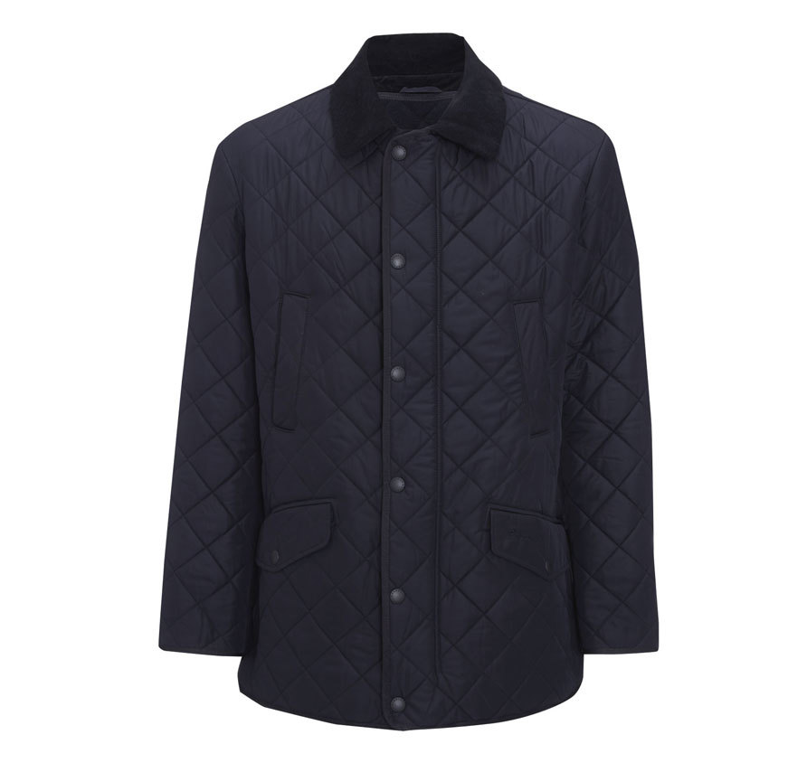 Barbour Bardon Jacket Navy Barbour Lifestyle: From the Classic collection