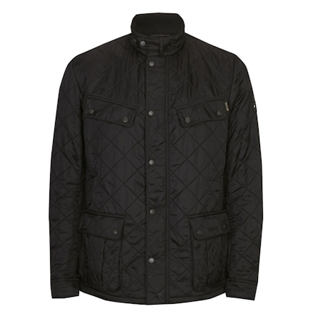 Barbour Ariel Polarquilt Jacket Black Barbour Internacional: from the World Tour capsule