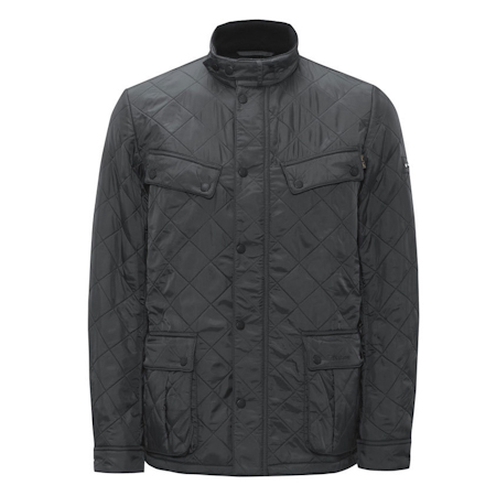 Barbour Ariel Polarquilt Jacket Charcoal