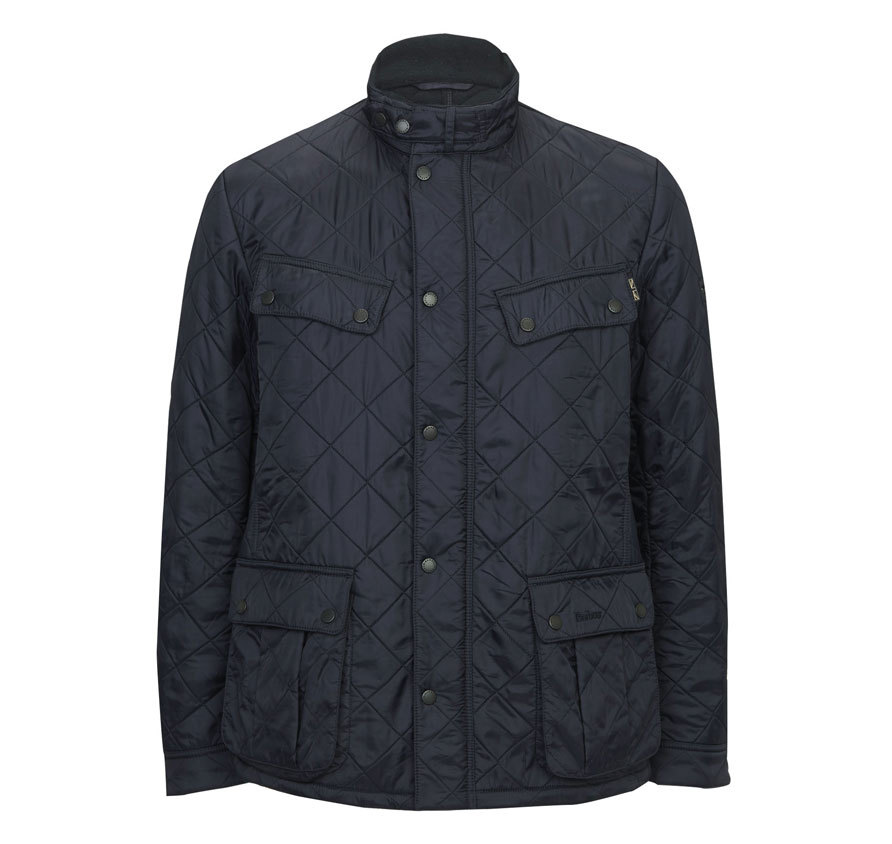 Barbour Ariel Polarquilt Jacket Navy