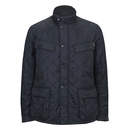 Barbour Ariel Polarquilt Jacket Navy Barbour Internacional: from the World Tour capsule