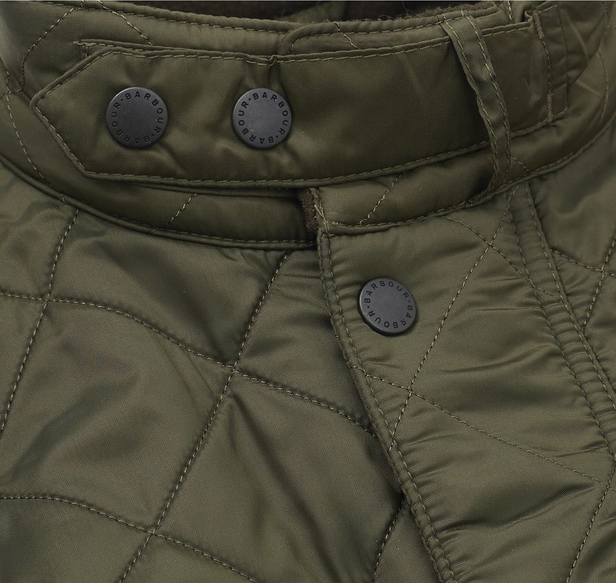 Barbour Ariel Polarquilt Jacket Olive