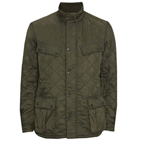 Barbour Ariel Polarquilt Jacket Olive Barbour Internacional: from the World Tour capsule