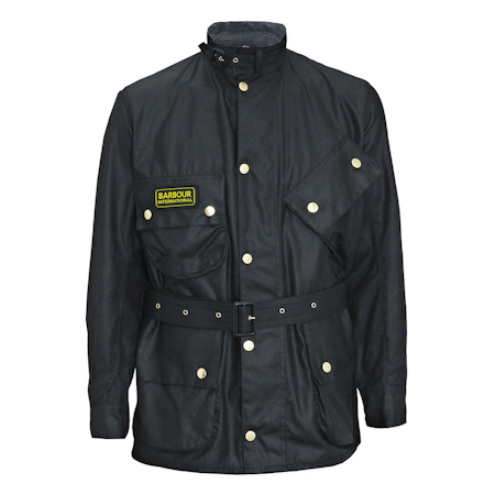Barbour International Original Waxed Jacket Barbour International: from the World Tour capsule