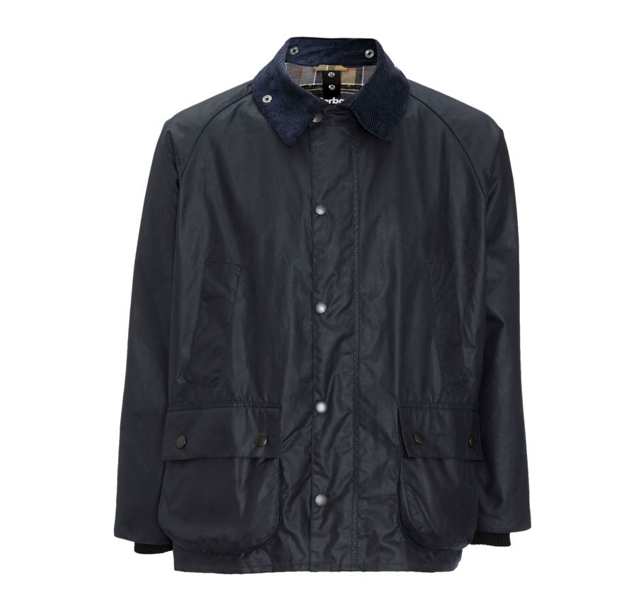 Barbour Bedale Jacket Navy Todo un clásico de Barbour
