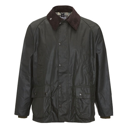 Barbour Bedale Waxed Jacket Sage