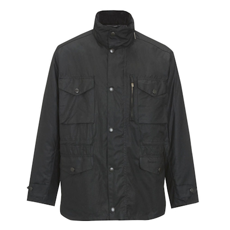 Barbour Sapper Waxed Jacket Black Barbour Lifestyle: from the Storm capsule