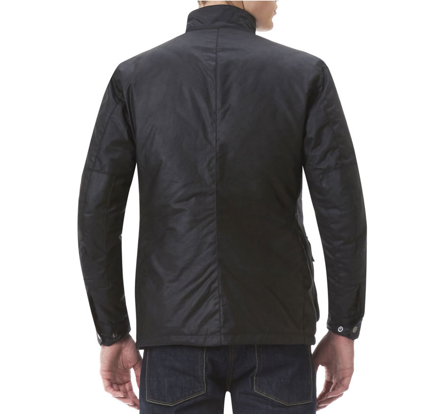 Barbour Duke Waxed Jacket Black