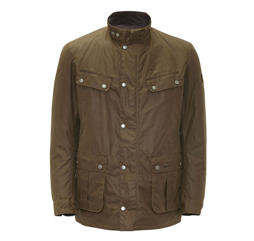 Barbour Duke Waxed Jacket Bark Una prenda actual pero recordando sus orígenes