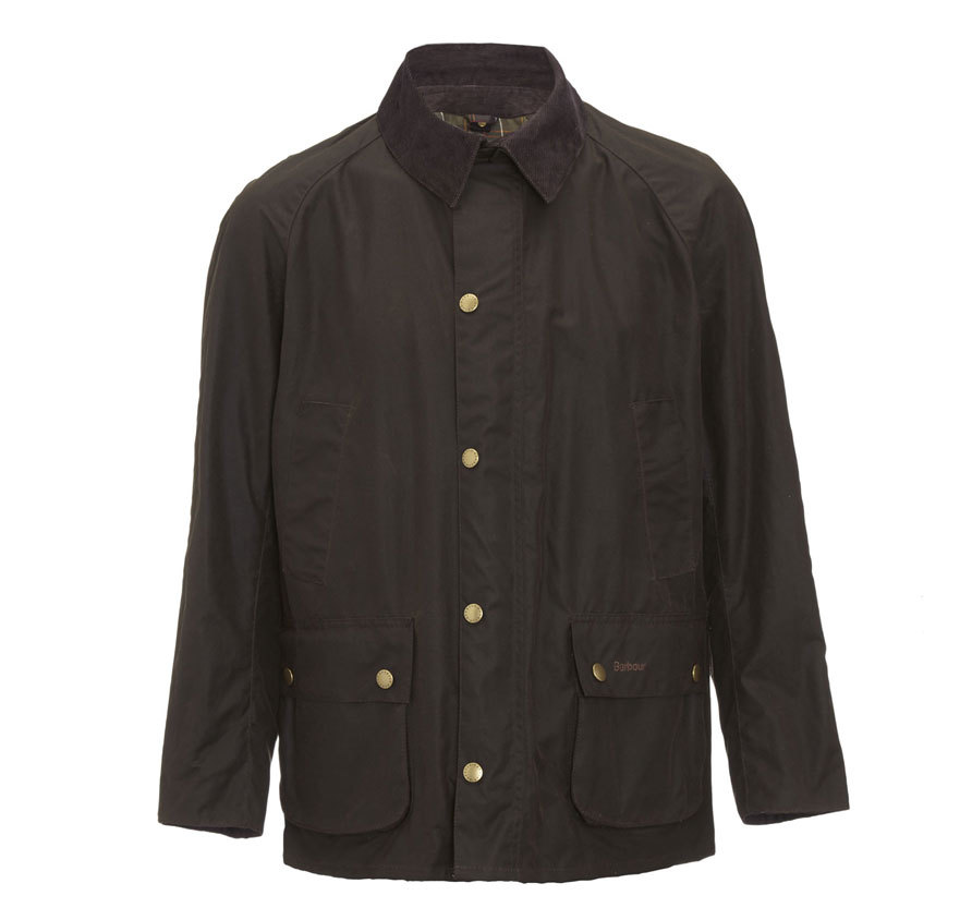 Barbour Ashby Waxed Jacket Oliva Barbour Lifestyle Collection - Tailored Fit