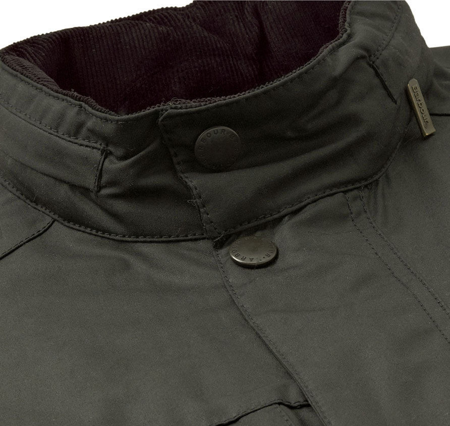 Barbour Corbridge Waxed Jacket Olive