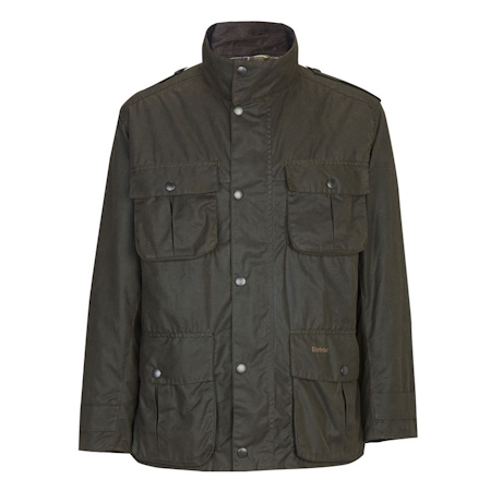 Barbour Corbridge Waxed Jacket Olive Barbour Lifestyle: from the Storm capsule