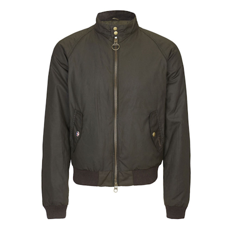 Barbour Merchant Waxed Jacket Barbour International: from the Steve McQueen capsule