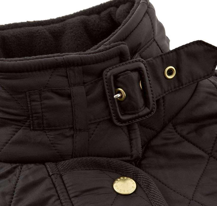 Barbour International Polarquilt Jacket Black