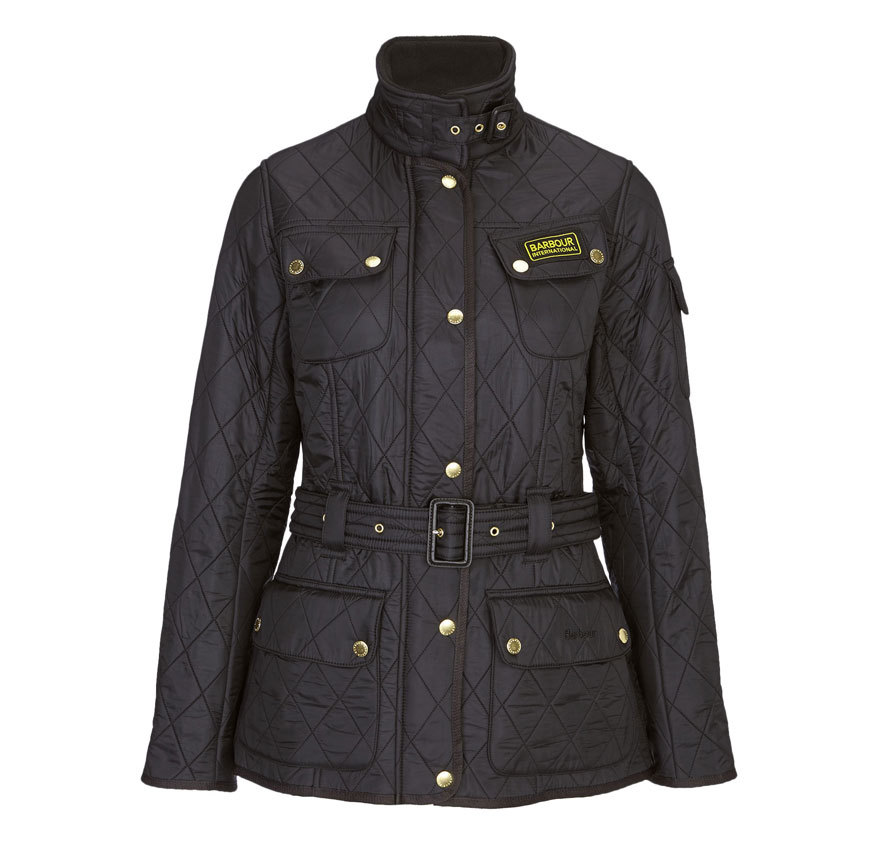 Barbour International Polarquilt Jacket Black Barbour International: from the Tourer capsule