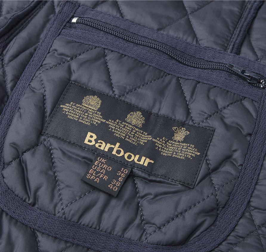 Barbour Betty Interactive Liner Navy