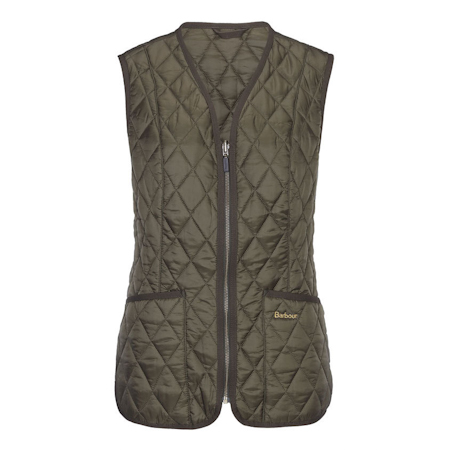 Barbour Barbour Betty Interactive Liner Olive Barbour Lifestyle: from the Country capsule