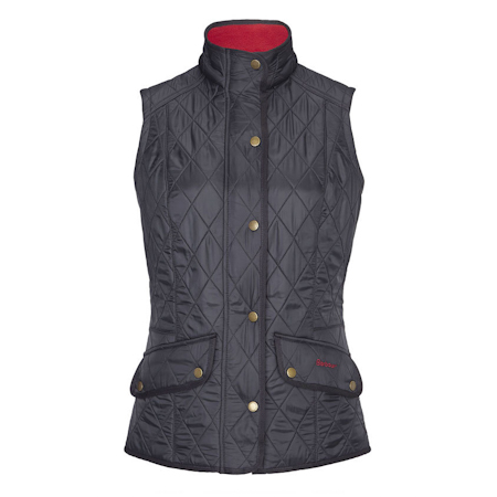 Barbour Barbour Cavalary Quilted Gilet Navy Barbour Lifestyle: from the Equestrian capsule