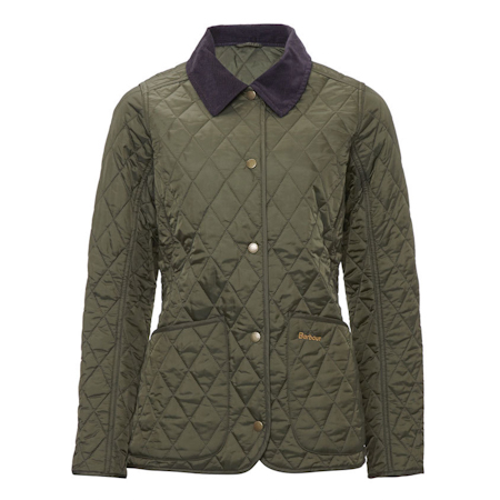 Barbour Annandale Quilted Jacket Olive Barbour Lifestyle: from the Classic capsule