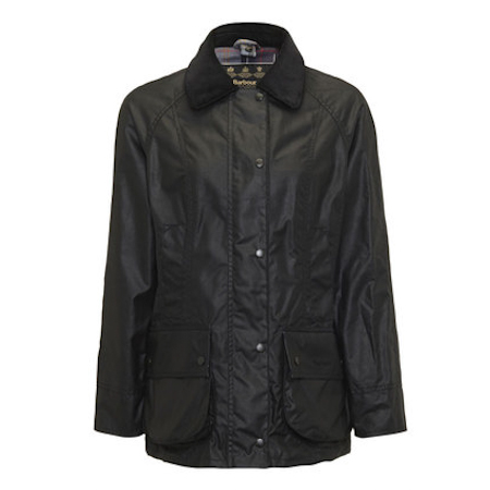 Barbour Beadnell Waxed Black Barbour Lifestyle: from the Country capsule