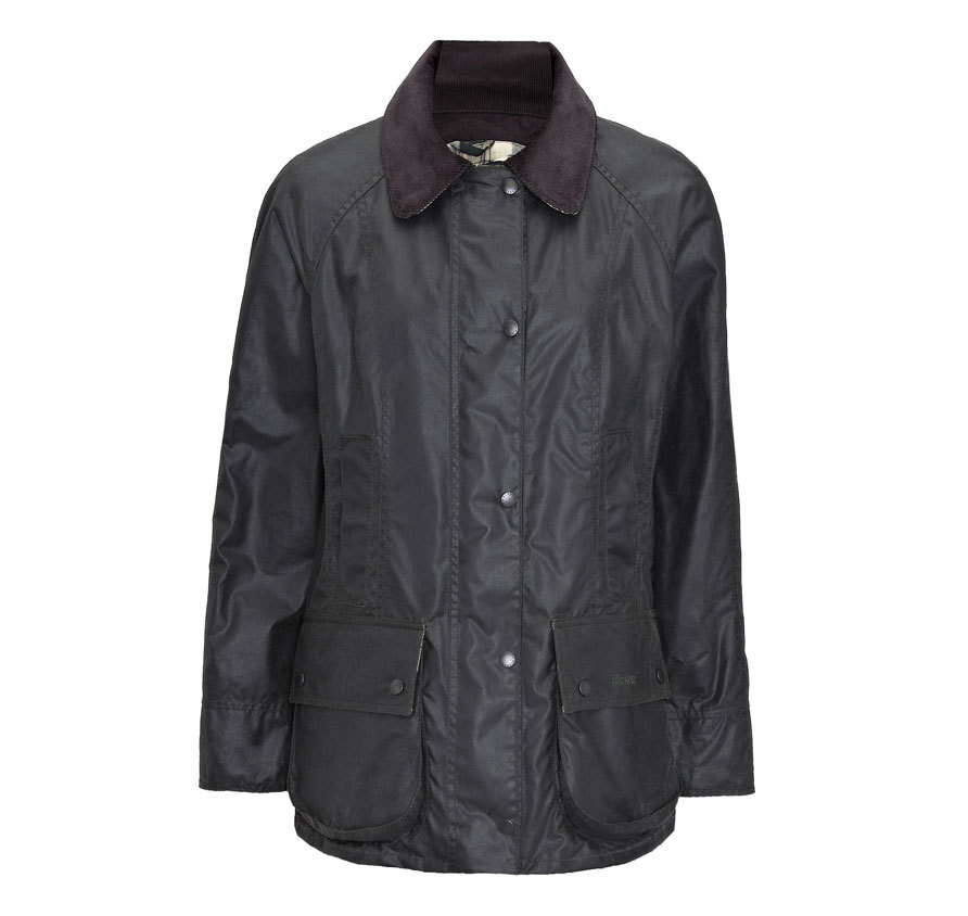 Barbour Beadnell Waxed Sage Barbour Lifestyle: from the Country capsule