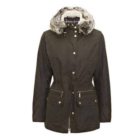 Barbour Kelsall Waxed Jacket Barbour International: from the Military capsule