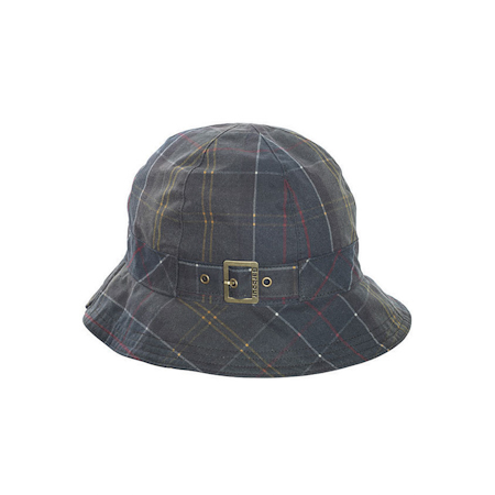 Barbour Classic Wax Trench Hat Tartan Barbour LifeStyle: from the Classic Tartan capsule