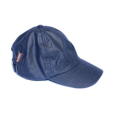 Childrens Wax Sports Cap Navy Gorra de baseball para niño/a