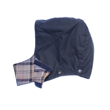 Barbour Childrens Wax Hood Navy Capucha para los Bedale o Beaufort!