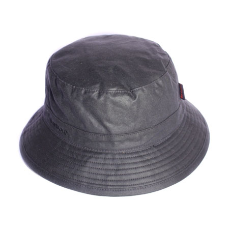 Barbour Wax Sports Hat Navy Clásico gorro de lluvia Barbour
