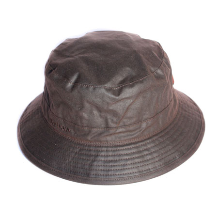 Barbour Wax Sports Hat Rustic Clásico gorro de lluvia Barbour