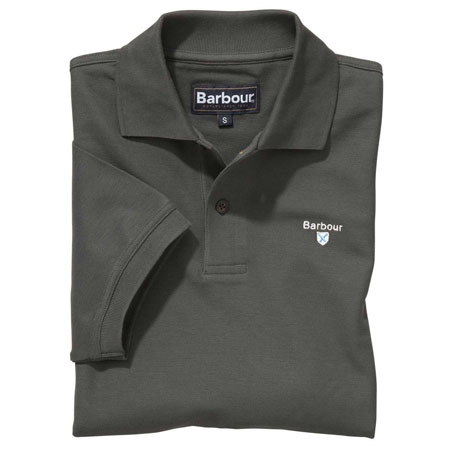 Barbour Sports Polo Shirt Olive Barbour Lifestyle: From the Core Essentials capsule